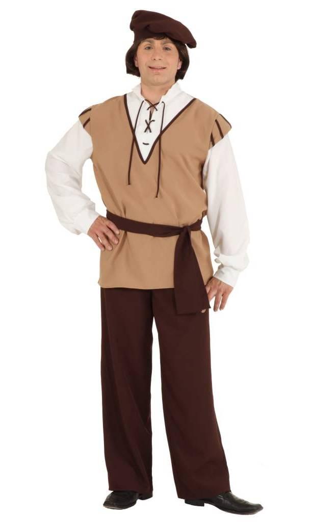 Costume-Médiéval-Paysan