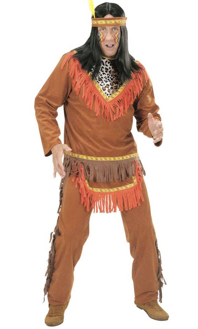 Costume d'indien homme