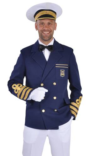 Veste de capitaine pour homme