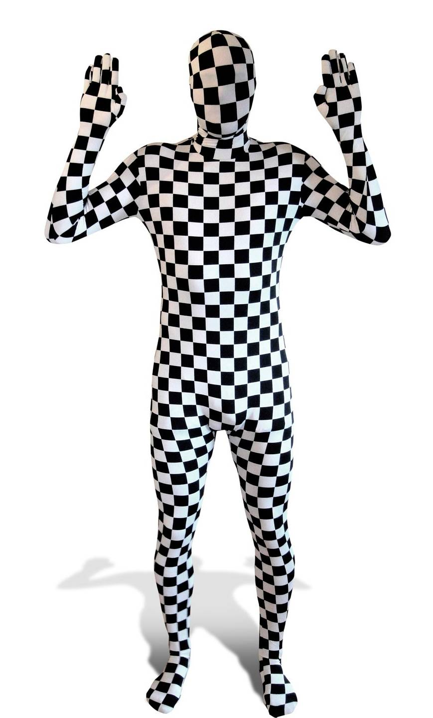 costume morphsuit damier v19660. Black Bedroom Furniture Sets. Home Design Ideas