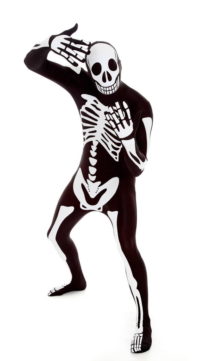 Costume-Squelette-noir-Morphsuit-2