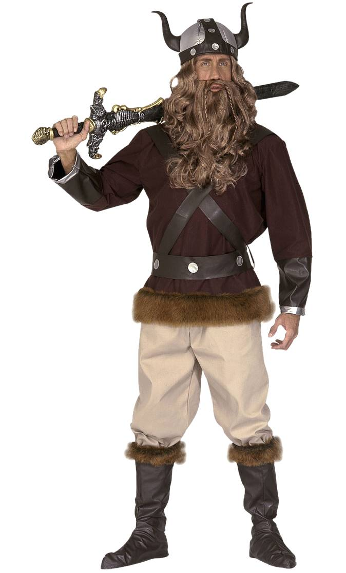 Costume de viking en grande taille xl