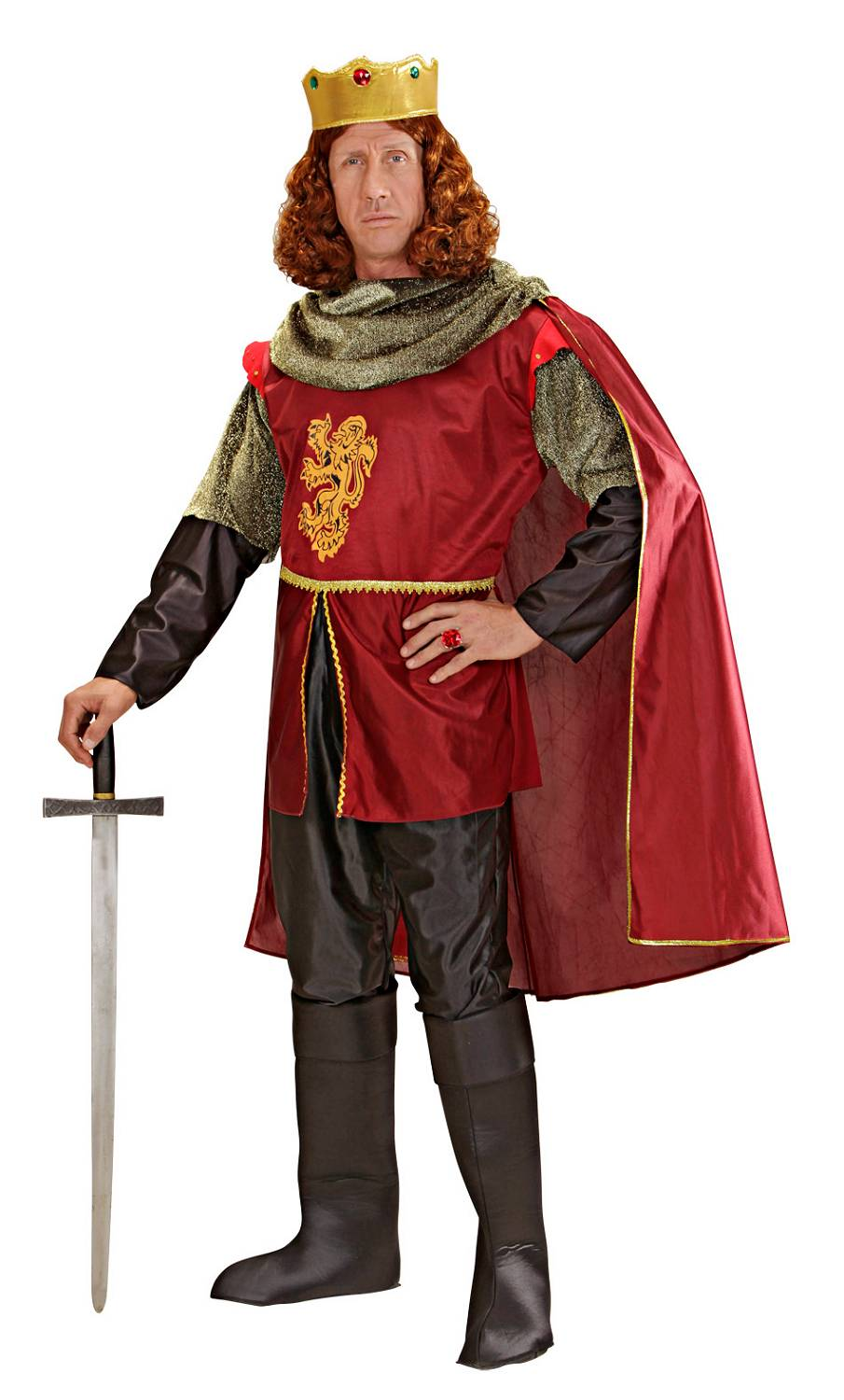 Costume-Chevalier-Homme-Grande-taille-XL-3