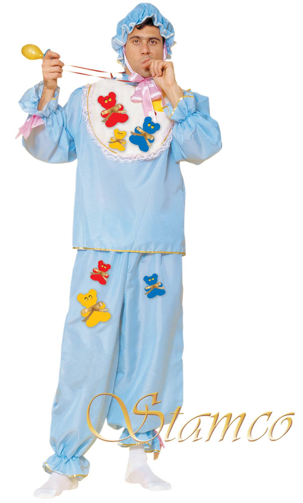 Costume-Bébé-bleu-Adulte