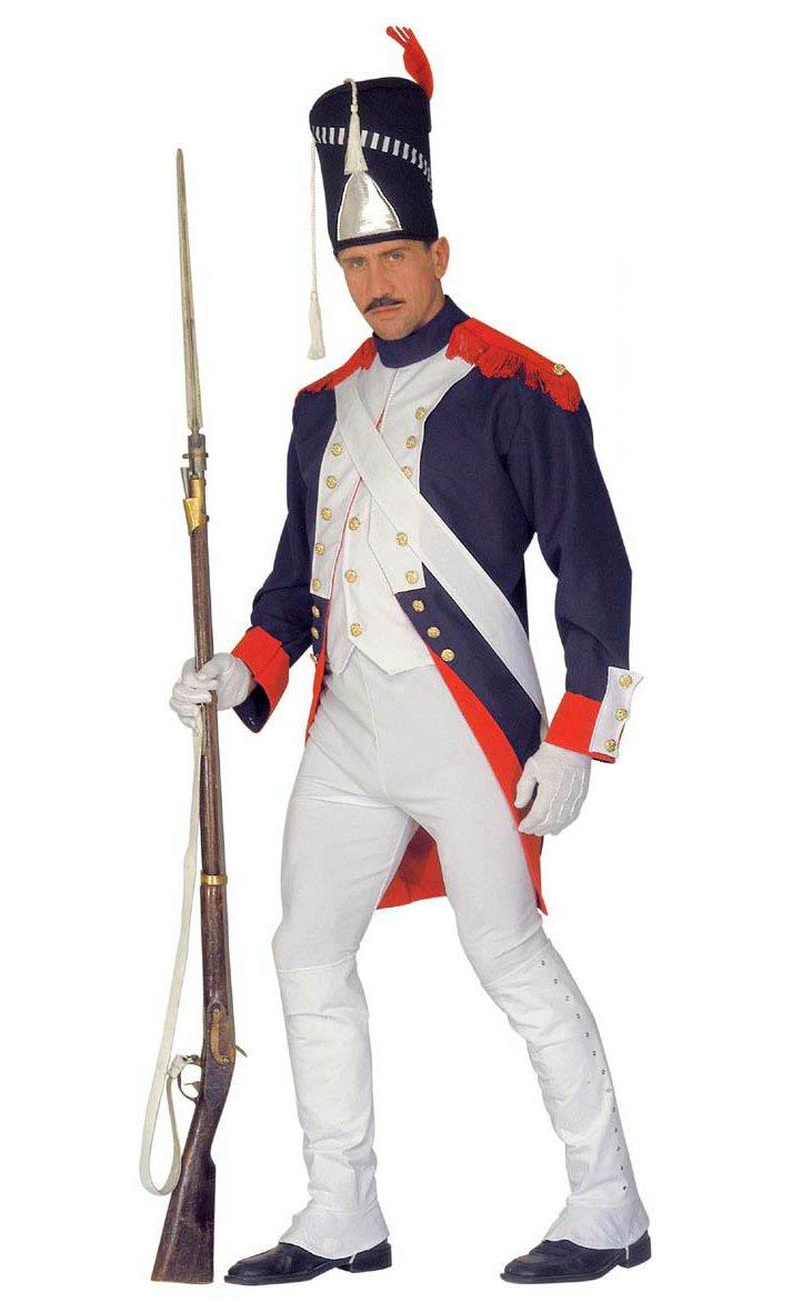 Déguisement-Grenadier-Grande-Taille-XL