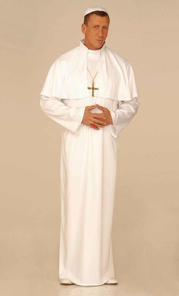 Costume de pape en grande taille xl