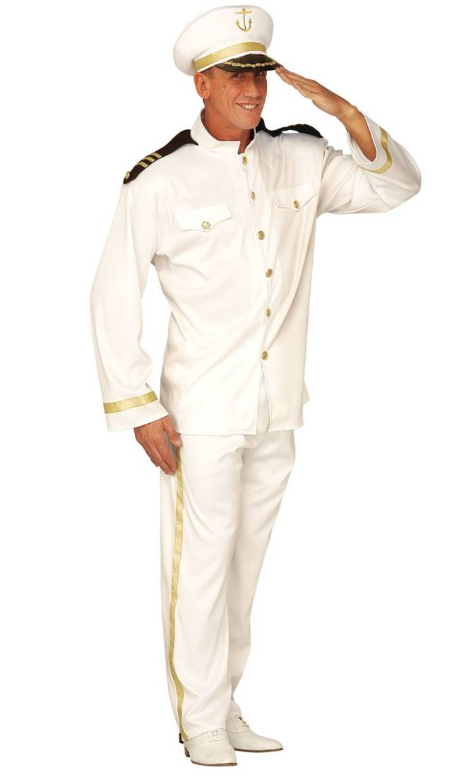 Costume capitaine homme xl