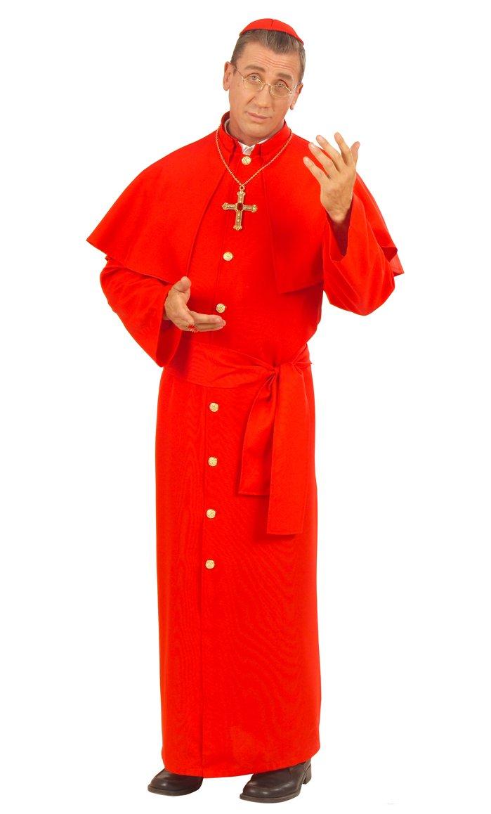 Costume de cardinal en grande taille xl