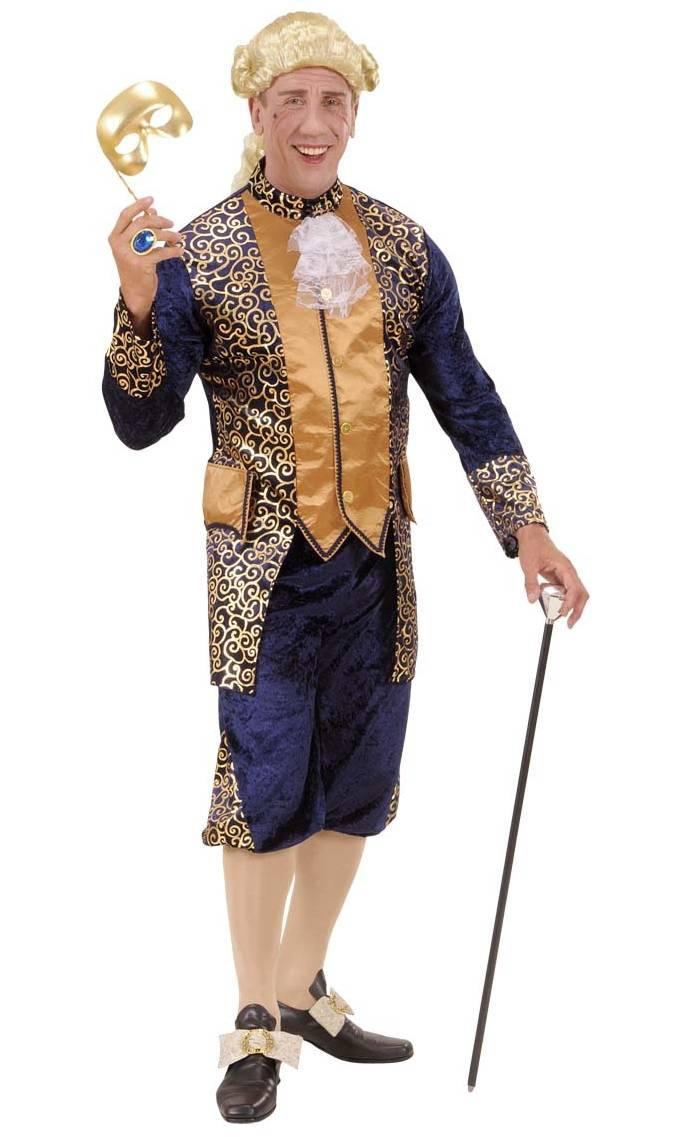 Costume-Marquis-velours-bleu-Grande-Taille-XL