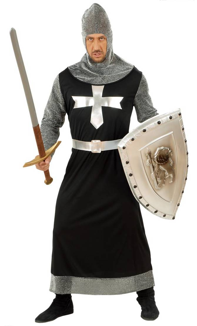 Costume chevalier-croisé-grande taille xl