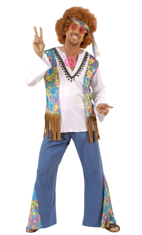 Costume hippie homme grande taille xl