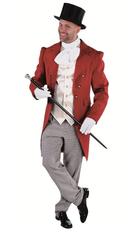 Costume belle epoque-homme 1900