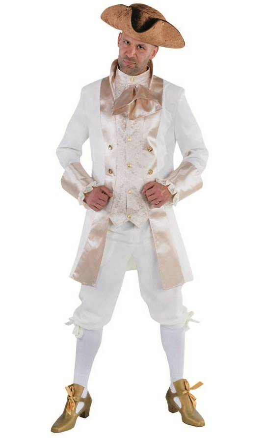 Costume marquis homme blanc