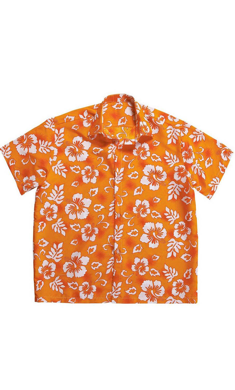 Chemise-Hawaï-orange-2