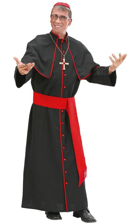 Costume de cardinal pour homme en grande taille