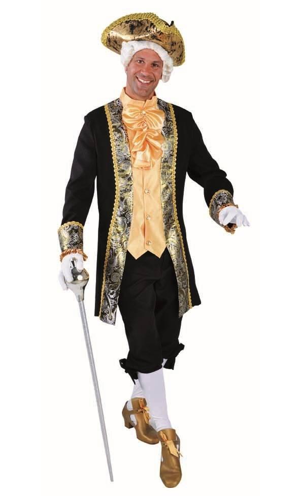 Costume de marquis baroque