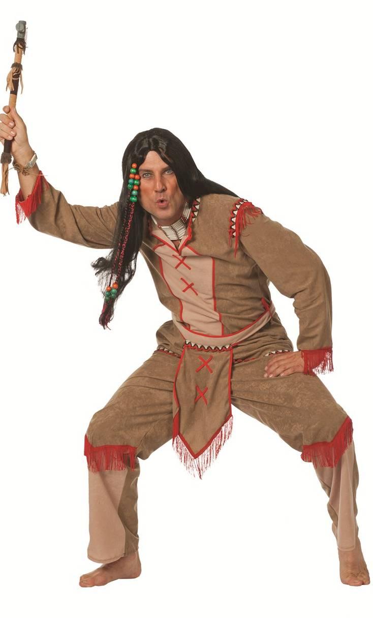 Déguisement-Indien-Grande-Taille-Homme