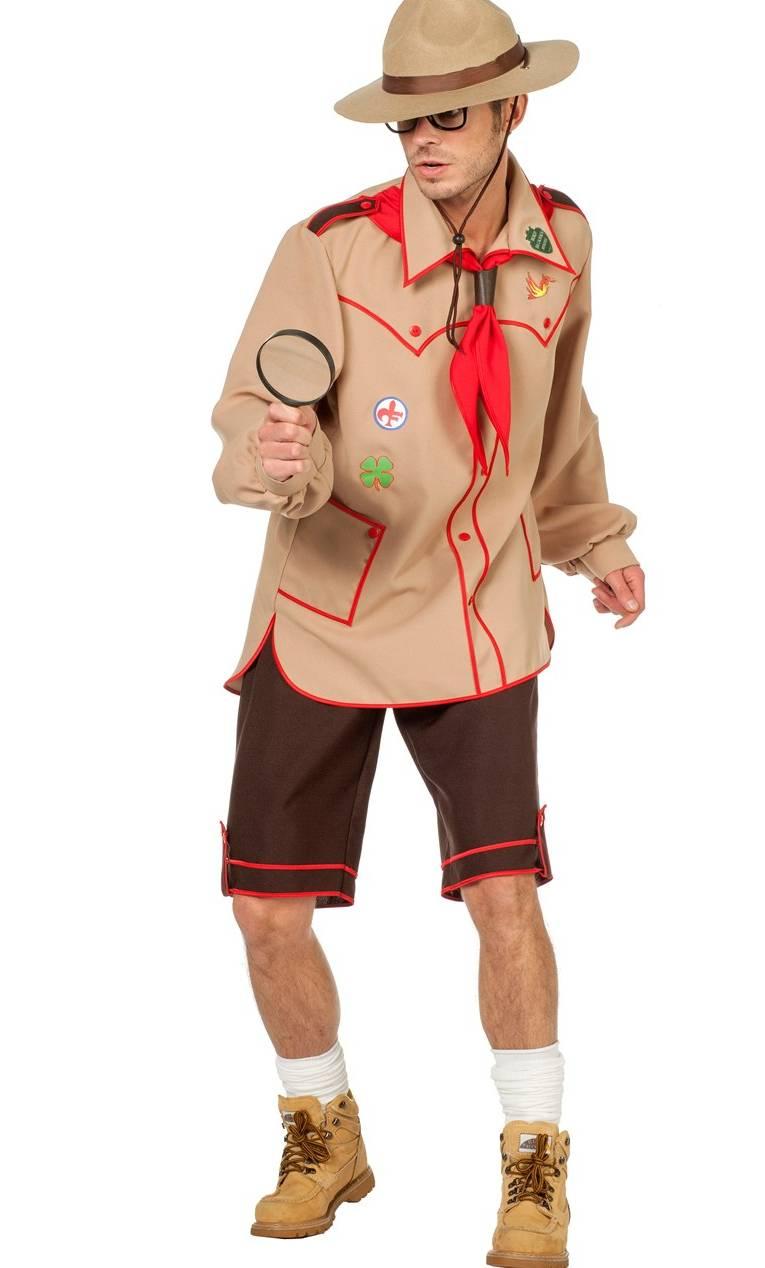 Costume-de-scout-pour-homme-en-grande-taille
