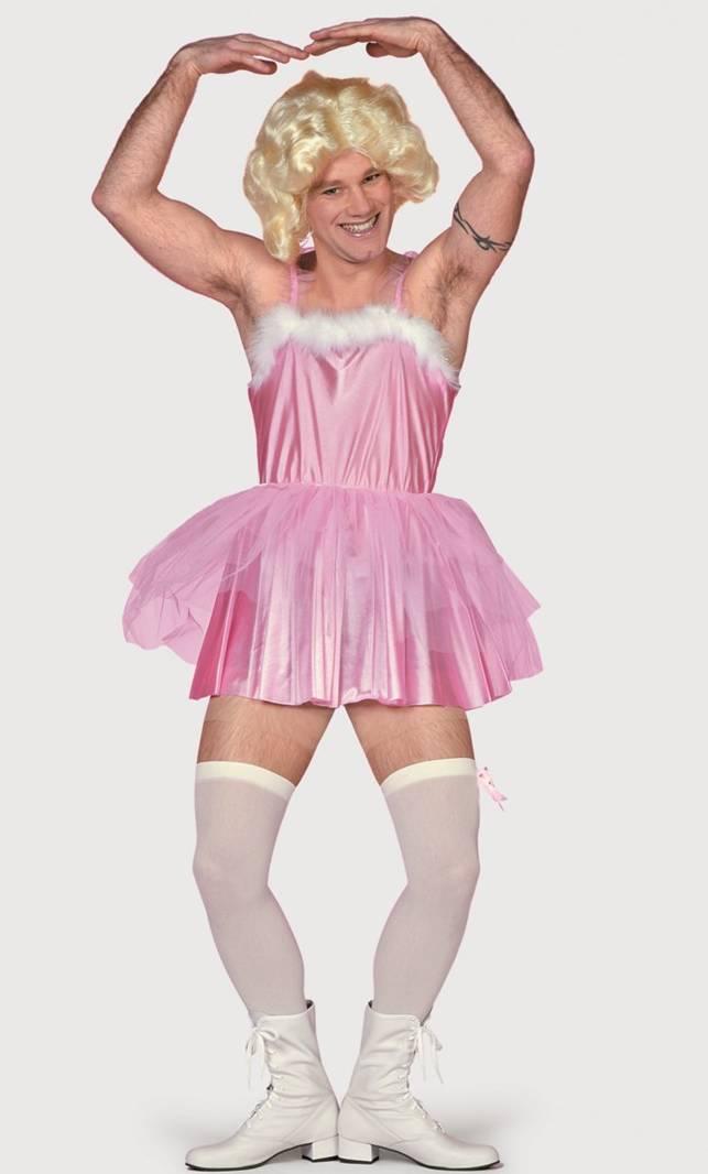 costume de ballerine rose pour homme v19842. Black Bedroom Furniture Sets. Home Design Ideas