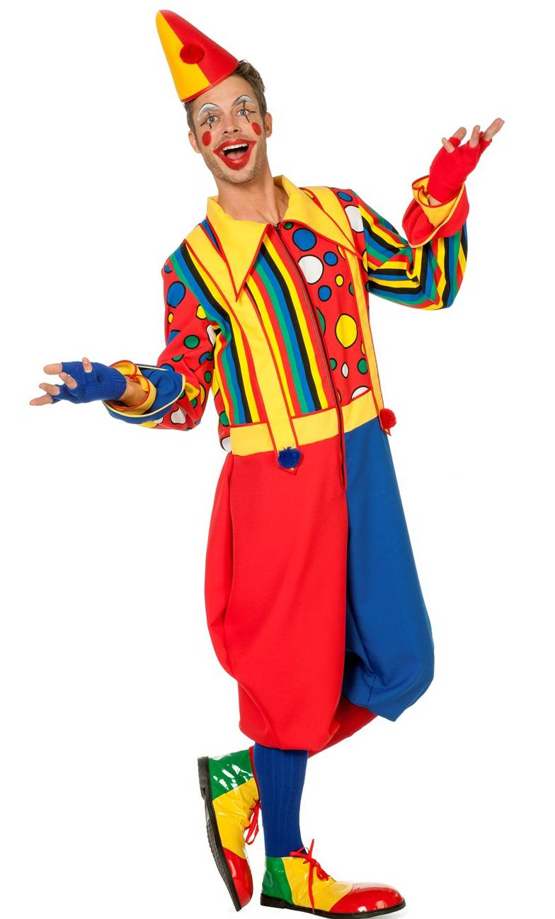 Costume-Clown-Grande-taille-XL-XXL