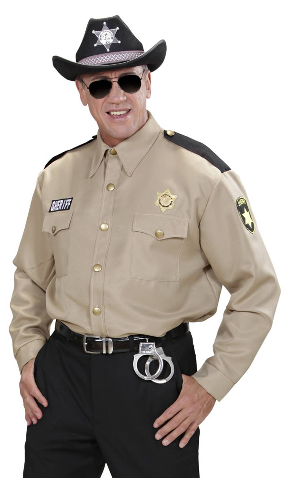 Chemise de sheriff xl