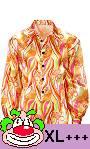 Chemise-hippie-70s-orange-grande-taille