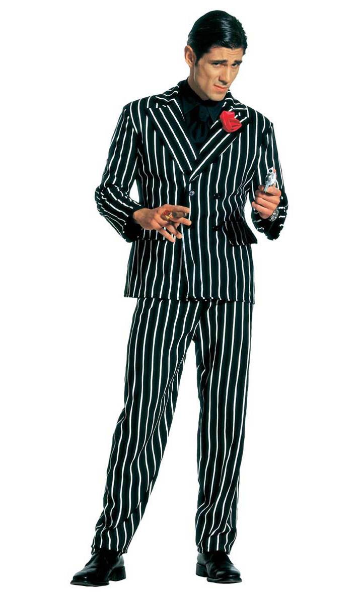 Costume gangster homme grande taille