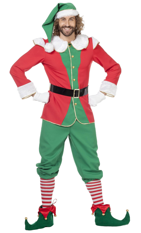 Costume-Lutin-Noël-Homme-XL-XXL