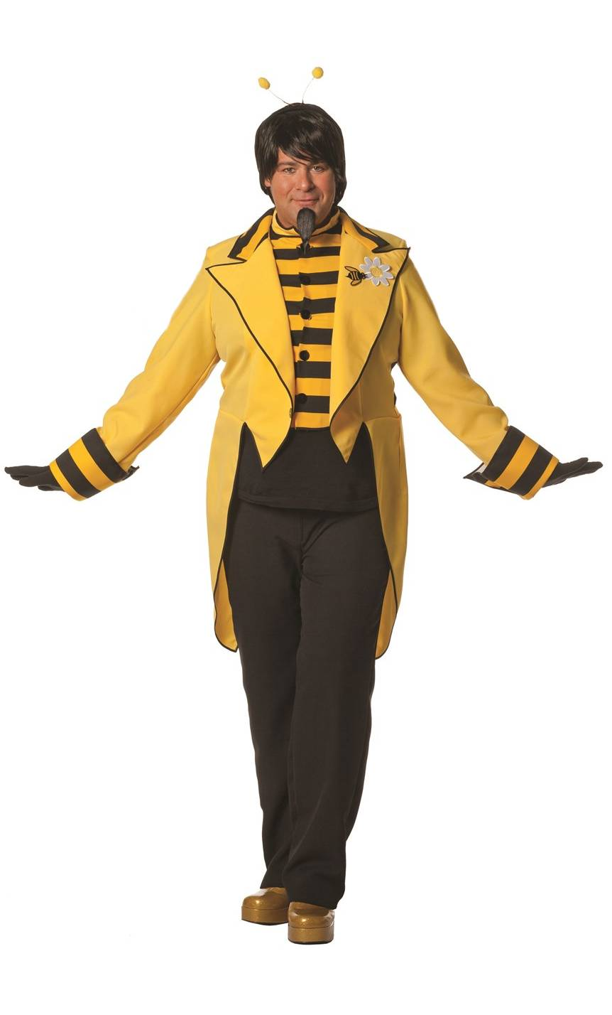 costume d 39 abeille pour homme en grande taille v19907. Black Bedroom Furniture Sets. Home Design Ideas