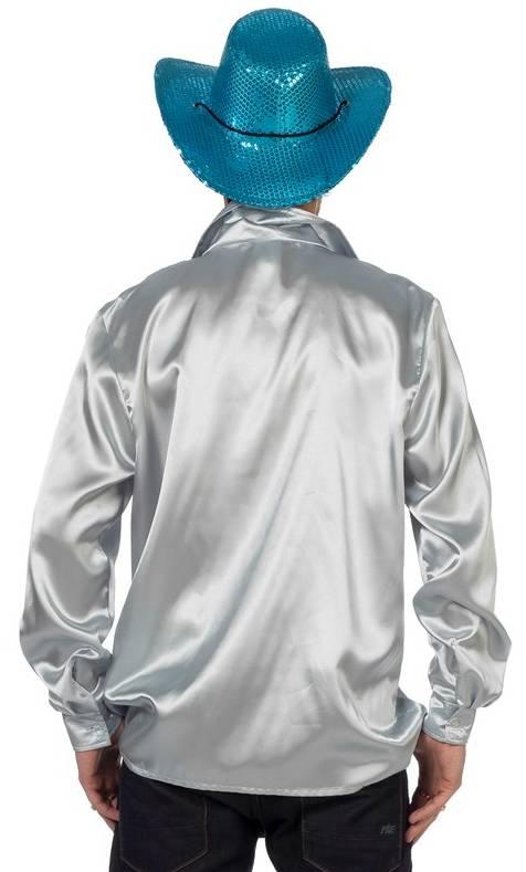 Chemise-disco-de-luxe-couleur-argent-en-grande-taille-XL-XXL-2