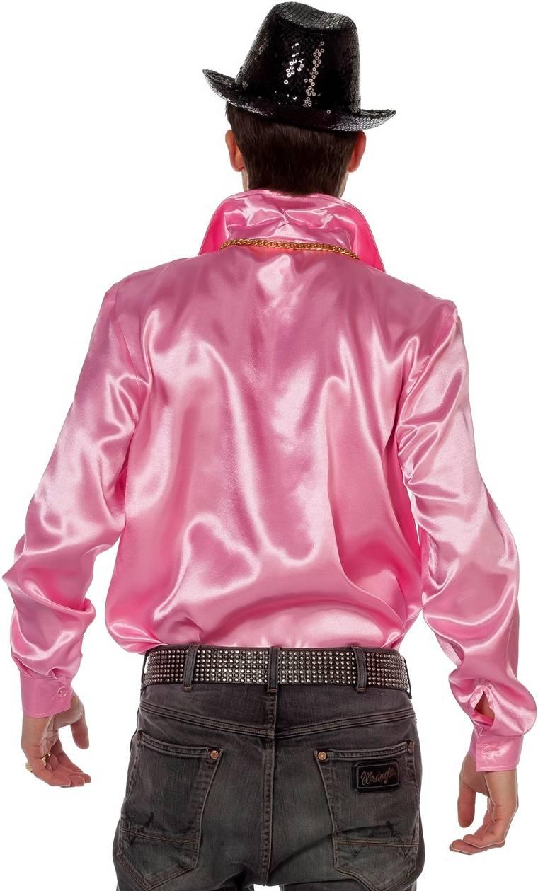 Chemise-Disco-luxe-rose-Grande-Taille-XL-XXL-XXXL-2