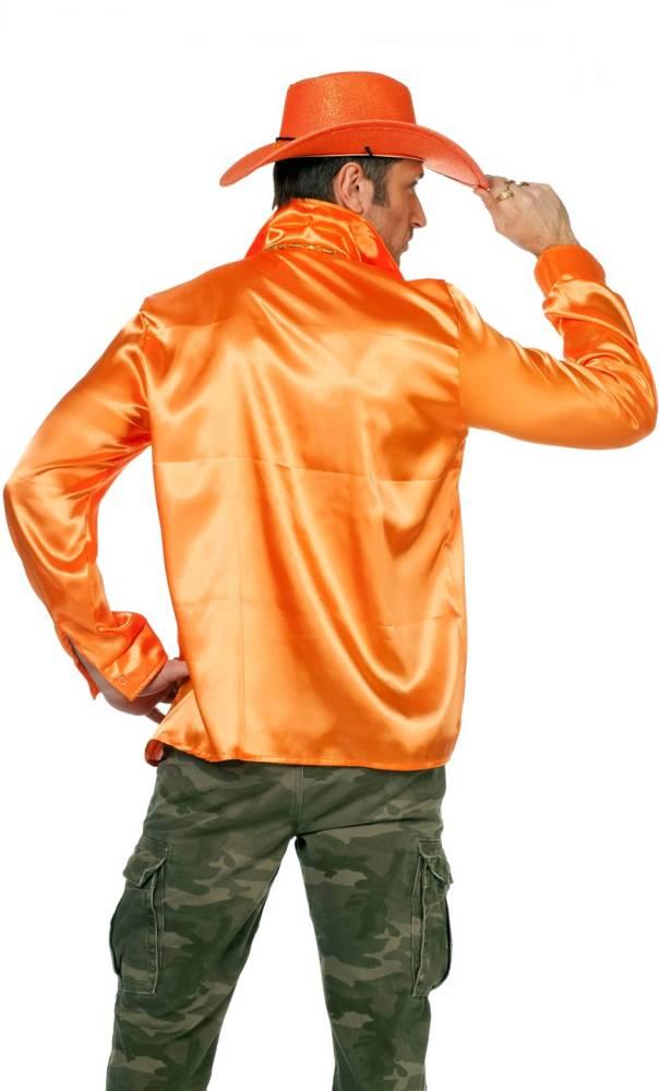 Chemise-Disco-luxe-orange-Grande-Taille-XL-XXL-XXXL-2