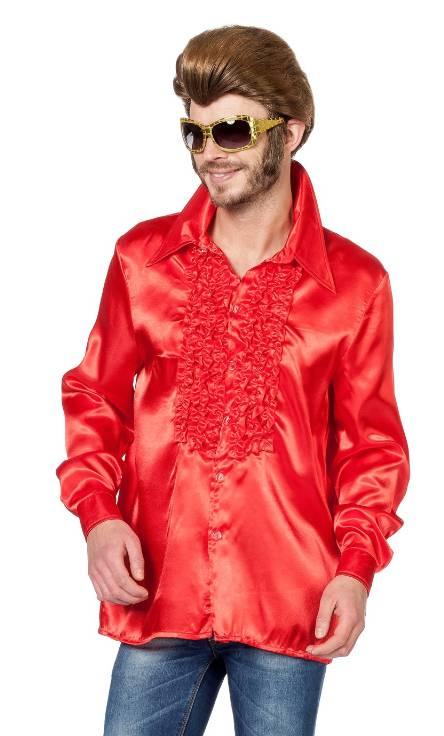 Chemise-Disco-luxe-rouge-grande-tailleXL-XXL-XXXL
