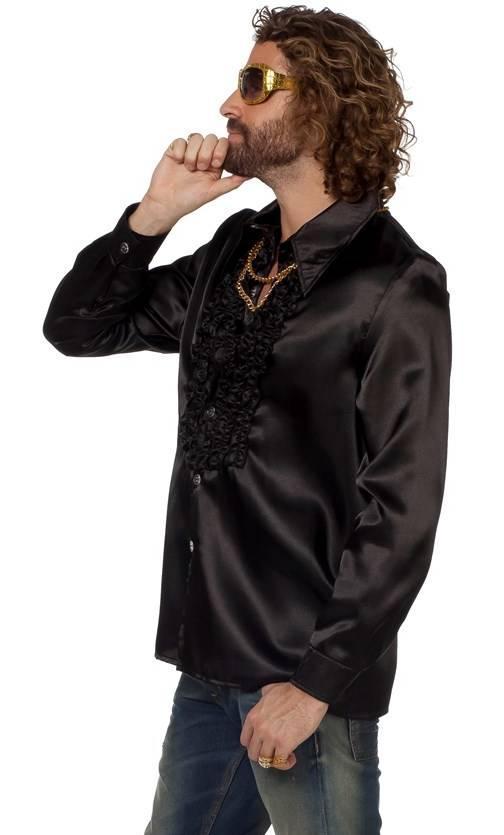 Chemise-Disco-luxe-noire-Grande-Taille-XL-XXL-XXXL-3