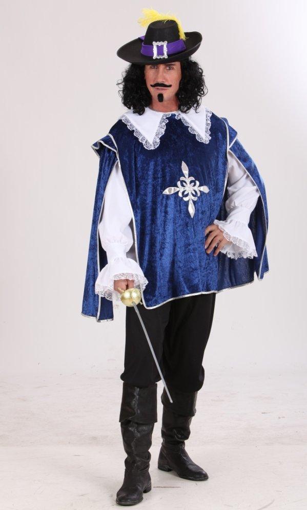 Costume-Mousquetaire-Bleu-grande-taille-XL