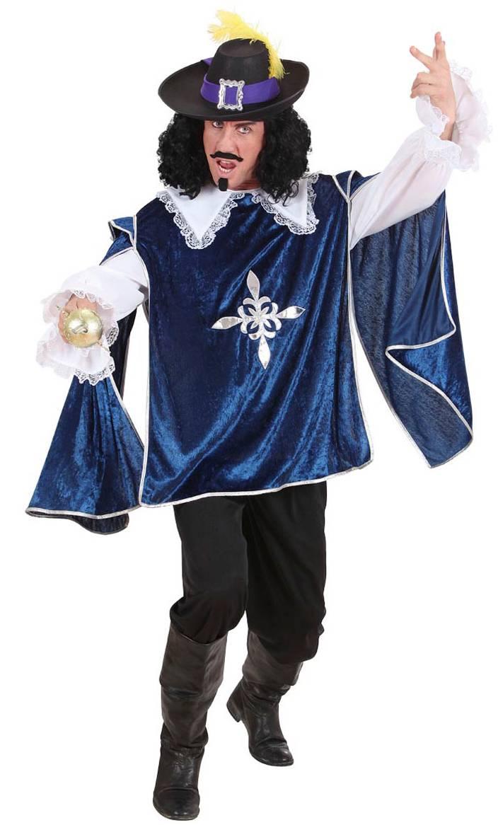 Costume-Mousquetaire-Bleu-grande-taille-XL-2