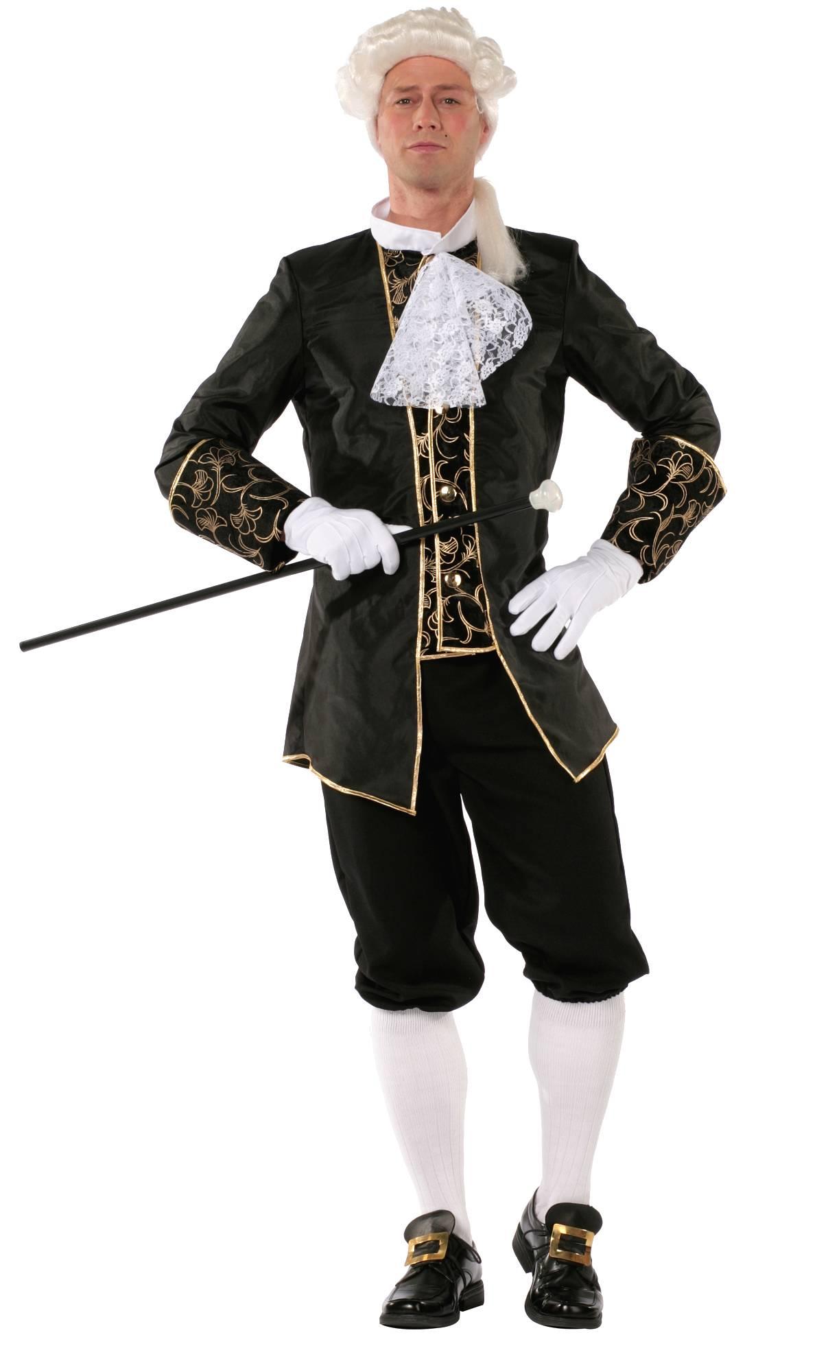 Costume-de-marquis-noir-homme-en-grande-taille