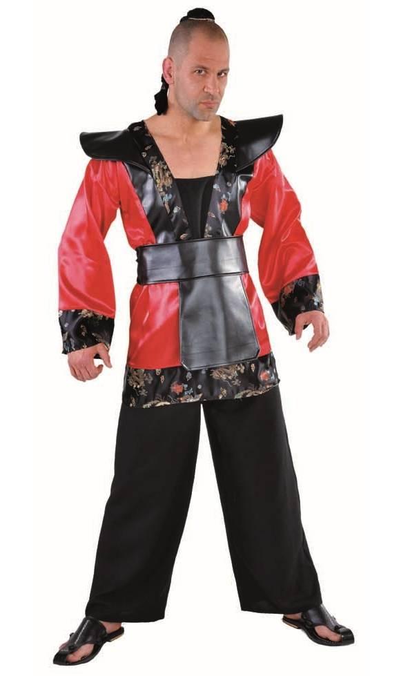 Costume-Samouraï-adulte-Grande-Taille