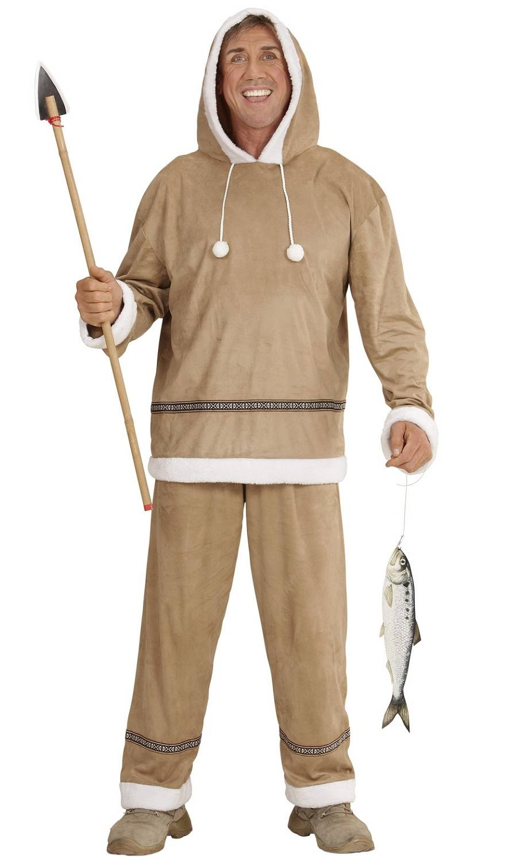 Costume-Esquimau-pour-homme-Grande-Taille-XL