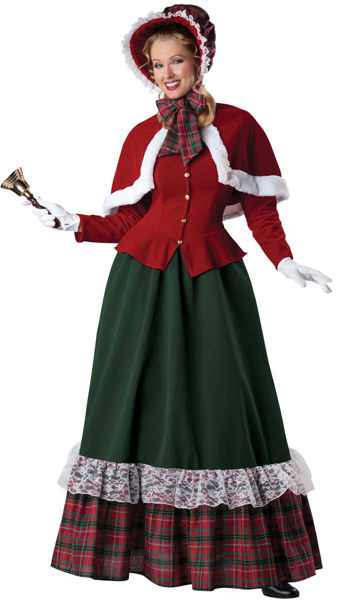 Costume-Mère-Noël-Tradition