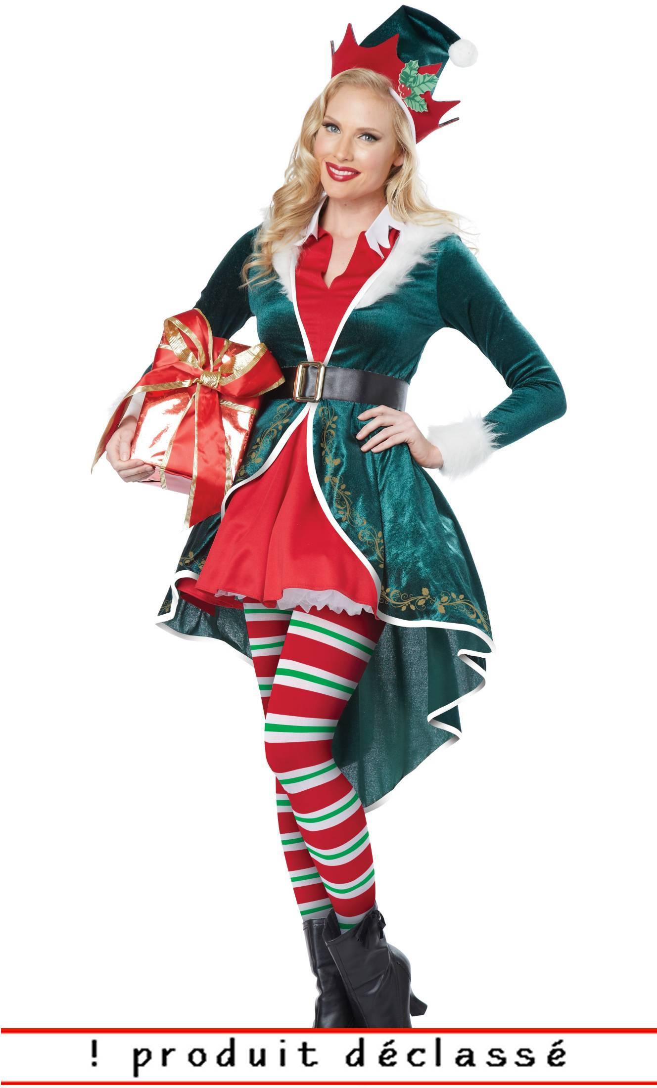 Lutin Noël Choix V21046 2 Costume Femme PZXiuTOk