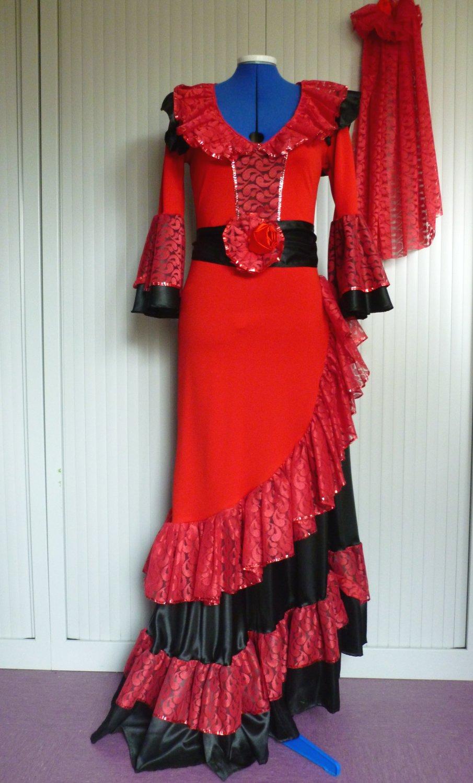 Robe-Espagnole-Carmen-2