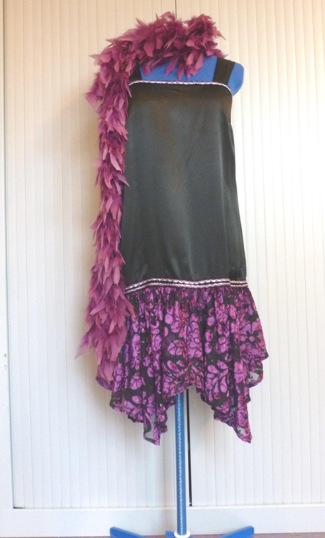 Robe-Charleston-Violette