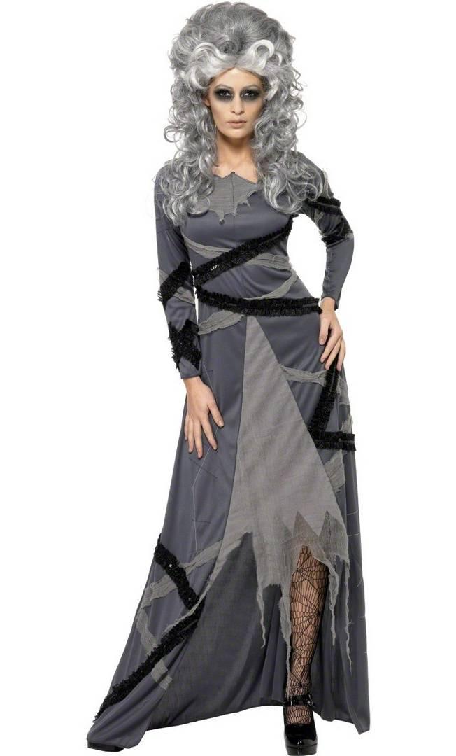 costume de zombie femme v28086. Black Bedroom Furniture Sets. Home Design Ideas