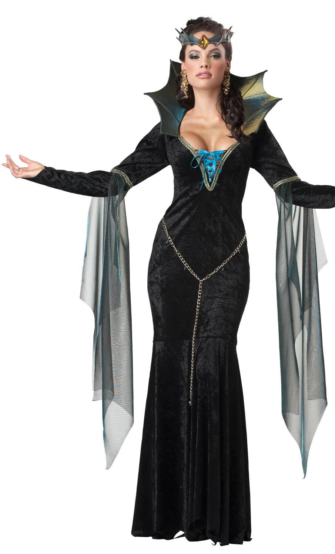 Costume-de-sorcière-maléfique