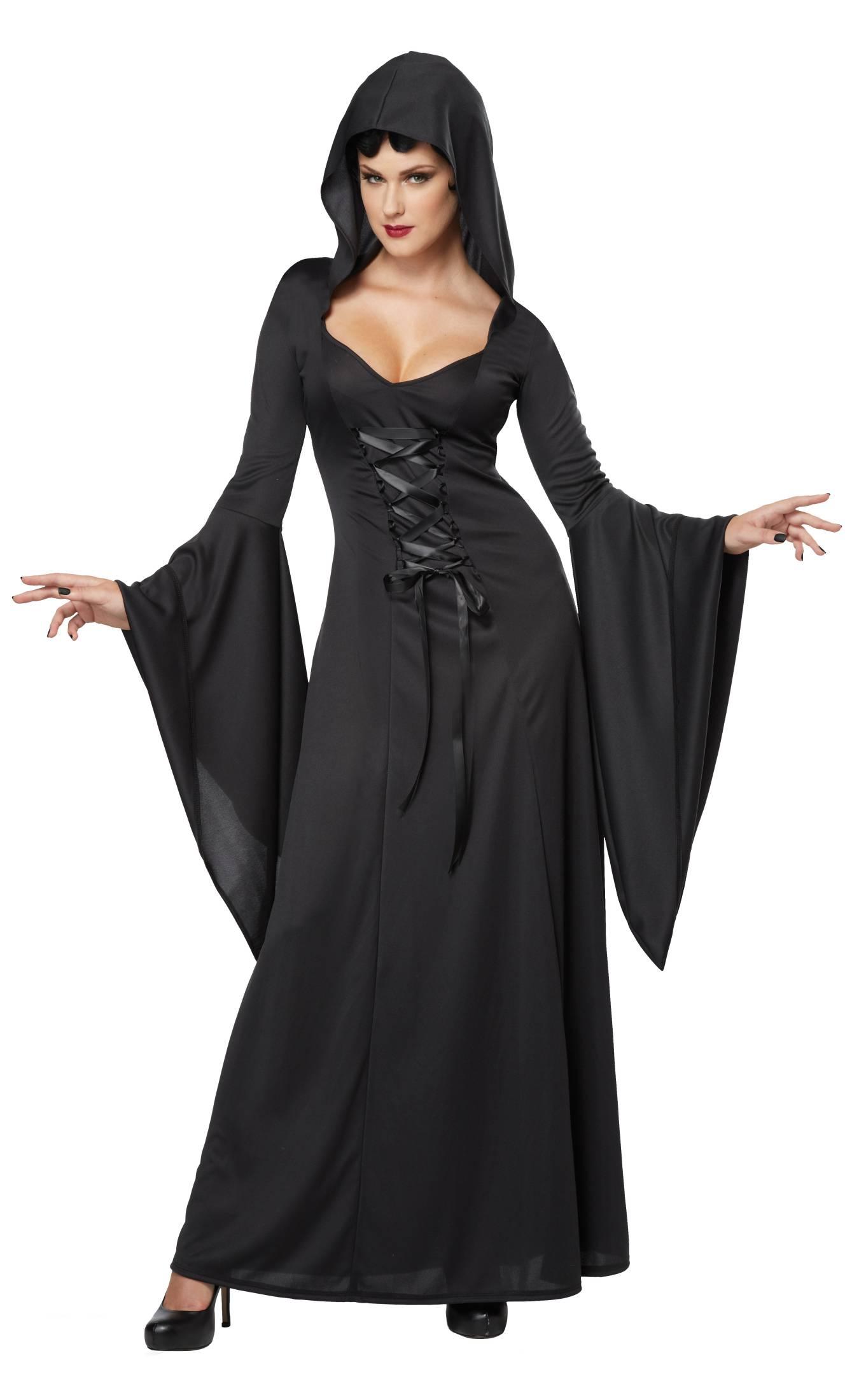 Costume-Sorcière-Maudite-noire