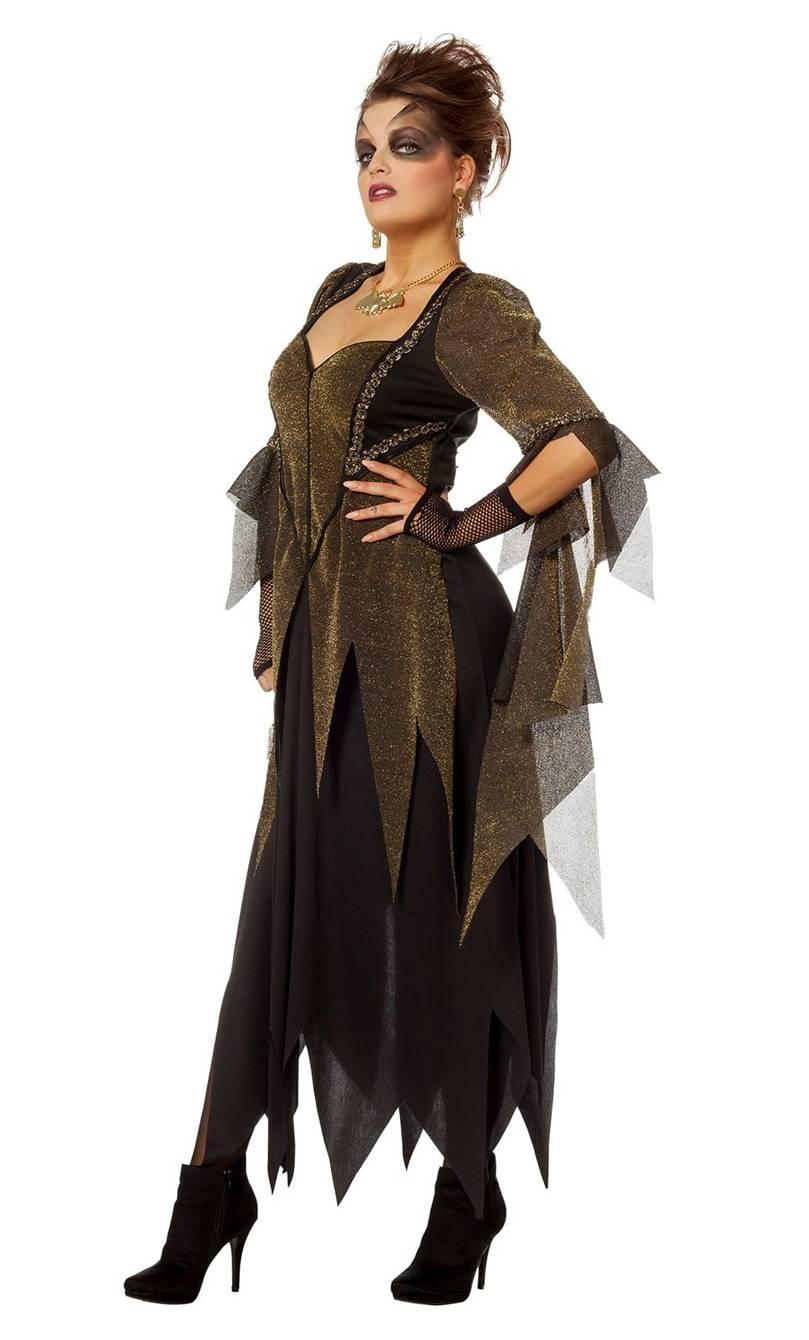 Costume-Sorcière-Maléfique-Or-Grande-taille-2