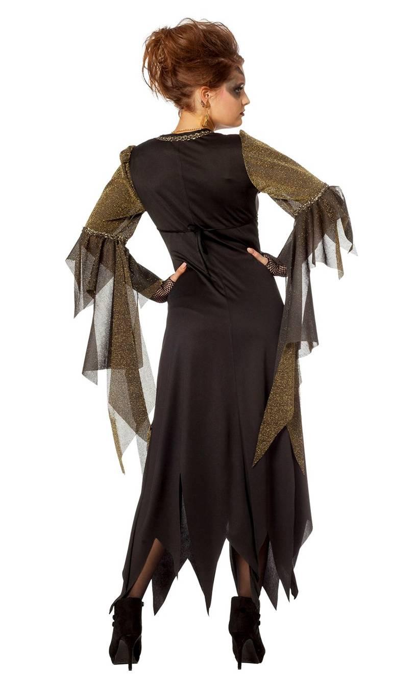 Costume-Sorcière-Maléfique-Or-Grande-taille-3