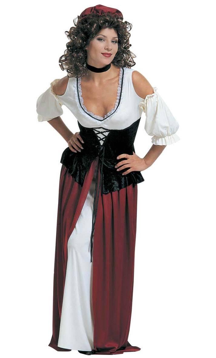 Costume tavernière médiévale