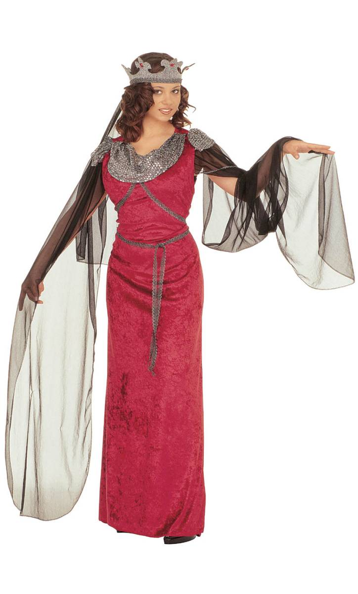 Costume-Médiévale-Femme-Guenièvre